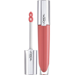 L'ORÉAL PARIS Lipgloss Brilliant Signature Plump-in-Gloss braun