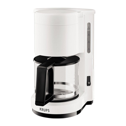 Krups Filterkaffeemaschine F18301 Kaffeemaschine AromaCafe 5 weiß