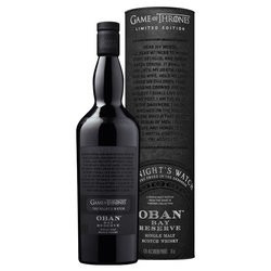 Oban Bay Reserve GoT Whisky The Night's Watch