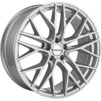 Carmani 20 Ludwig 8.5x19 ET45 5X108 63,4, white silver