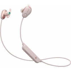 Sony WI-SP600N Sport-Kopfhörer (IPX4 wasserfest, bis zu 6 Stunden Akkulaufzeit, Extra Bass) rosa