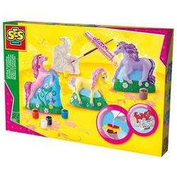 SES Creative® Gipsfiguren - Pferde