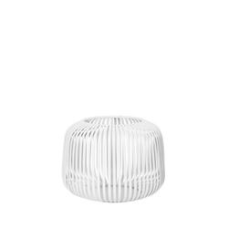 BLOMUS Teelichthalter Laterne Lito XS Weiß