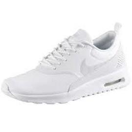Nike Wmns Air Max Thea white-platinum/ white, 40.5