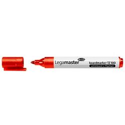 10 Legamaster TZ 100 Whiteboard- und Flipchart-Marker rot 1,5 - 3,0 mm