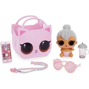 LOL Surprise Sammelbare Modepuppen - Mit Handtasche & Make-up-Überraschungen - Lil Kitty Queen - Ooh La La Baby Surprise