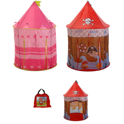 Prinzessinnenzelt od. Piratenzelt - Kinderzelt Spielzelt für Pirinzessin od. Pirat