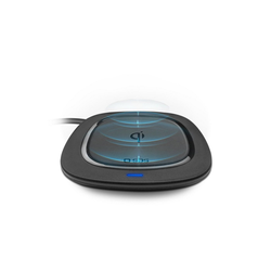 sbs SBS Wireless Charger 5W - Qi Handy Ladestation kabellos - Ladegerät schwarz Wireless Charger