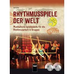 Rhythmusspiele der Welt als Buch von Rolf Grillo