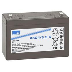 Blei-Akku Sonnenschein Dryfit A504/3.5S, 4 Volt, 3,5 Ah