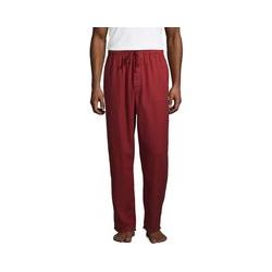 Flanell-Pyjamahose - M - Rot