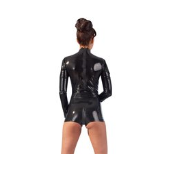 Body aus Latex, busenfrei