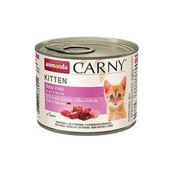 Animonda Carny Kitten Katzenfutter Nassfutter Katzen bis 1 Jahr Baby-Paté  200 g