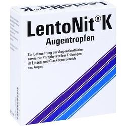 Lento Nit K Augentropfen