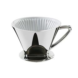 Cilio Kaffeefilter Porzellan Größe 4