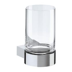 KEUCO Plan Glashalter: mit Echtkristall-Glas 6,6 x 11,6 x 9,3 cm
