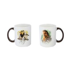 Joy Toy Tasse Star Wars - Chewie und Porgs Keramiktasse