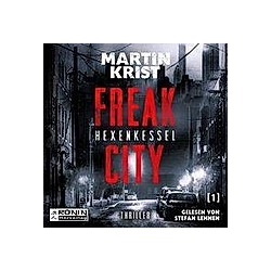 Freak City - Hexenkessel  Audio-CD - Hörbuch