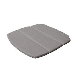 Sitzkissen für Breeze Stapelstuhl braun, 2x49x47 cm