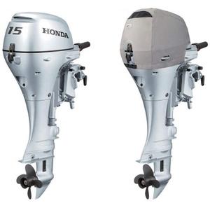 Oceansouth wasserdichte und belüftete Abdeckung für Honda Außenborder von BF2.3 bis BF250 (Honda 2CYL 350cc BF15 BF20 Vented Cover (2002>))