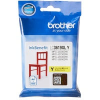 Brother Ink LC3619XLY Yellow   1500 PGS   MFC-J2330DW/ MFC-J3530DW / MFC-J3930DW