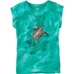 T-Shirt Sea, türkis, Gr. 152/158 - 152/158 - türkis