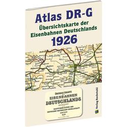 Atlas DR-G 1926 - Übersichtskarte der Eisenbahnen Deutschlands: Buch von