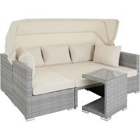 TecTake San Marino Rattan Lounge