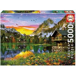Educa Puzzle See in Den Alpen, 5000 Puzzleteile