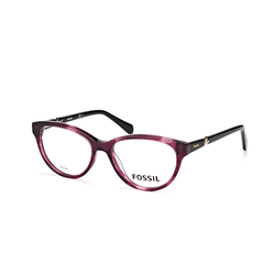 Fossil FOS 6085 0CC, inkl. Gläser, Cat Eye Brille, Damen