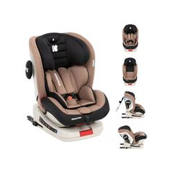 Kikkaboo Autokindersitz Kindersitz Kindersitz Strong Isofix, 13.9 kg, Gruppe 0+/1/2/3 (0 - 36 kg), 5-Punkt-Gurt natur