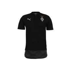 PUMA Poloshirt Borussia Mönchengladbach Casuals schwarz M