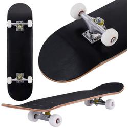 COSTWAY Skateboard Skateboard schwarz