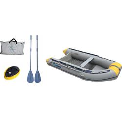 VIAMARE Schlauchboot 330 S Alu grau Wasserspielzeug Outdoor-Spielzeug