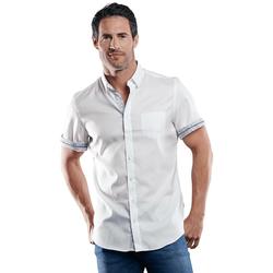 100% bügelfreies Hemd Engbers Reinweiss