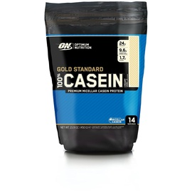 Optimum Nutrition Gold Standard 100% Casein Creamy Vanilla Pulver 450 g