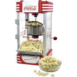 Salco SNP-27CC Popcorn-Maker Rot, Weiß