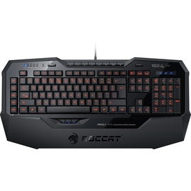 Roccat Isku FX Multicolor Gaming Keyboard DE schwarz