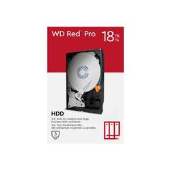 WD Red Pro 18 TB, SATA 6 Gb/s, 3,5