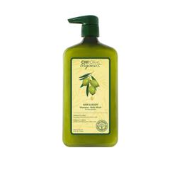 CHI Gel Olive Organics Hair & Body Shampoo/Body Wash