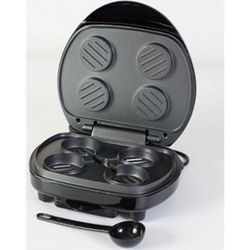Mini Burger Grill Low Fat Tischgrill Burgermaker Hamburger Maker Kontaktgrill