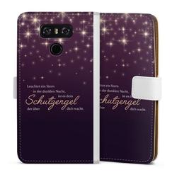 DeinDesign Handyhülle Schutzengel LG G6, Hülle Schutzengel Sprüche Spruch weiß