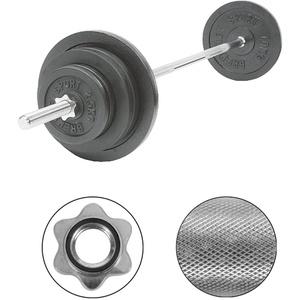 Langhantel-Set, 60 kg