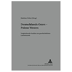 Deutschlands Osten - Polens Westen - Buch