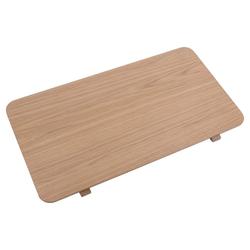 ebuy24 Esstisch Asbaek Zusatzplatten Set mit 2 Stk.