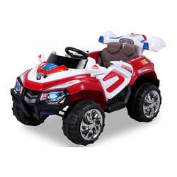 Kinder Elektro Auto Jeep Kinderauto Elektrofahrzeug Kinderfahrzeug Spielzeug (Rot)