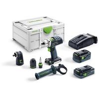 Festool Akku-Bohrschrauber DRC 18/4 5,2/4,0 I-Set-SCA QUADRIVE SYS3 M 187 576460