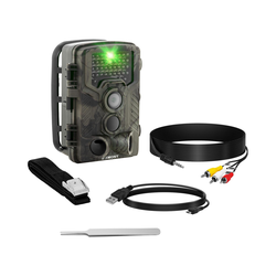 Wildkamera - 8 MP - Full HD - 42 IR-LEDs - 20 m - 0,3 s - 3G