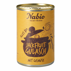 Jackfruit Gulasch 400g - Nabio