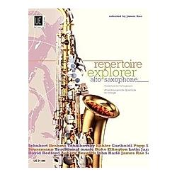 Repertoire Explorer - Alto Saxophone  für Altsaxophon solo oder Altsaxophon und Klavier - Buch